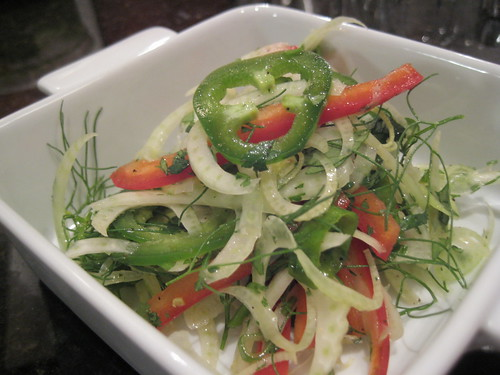 Summer Shaved Fennel Salad