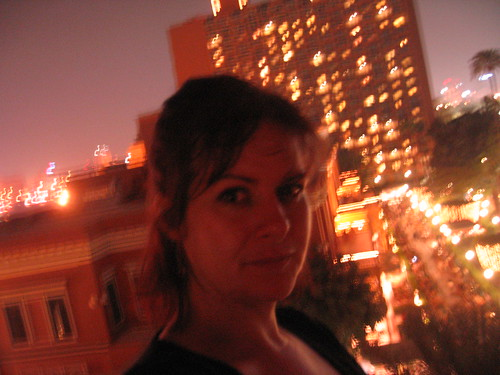 Windblown, sultry Nile evening