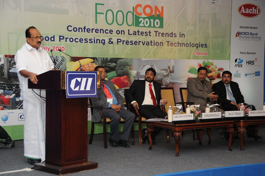 Prof. K V Thomas, Hon'ble Union Minister of State for Agriculture, Consumer Affairs, Food & Public Distribution delivering the Inaugural address.
