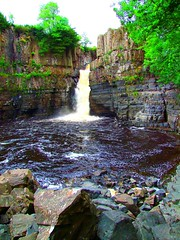 High Force (tina negus) Tags: river landscape waterfall durham view scenic geology pennines tees highforce teesdale carboniferous whinsill