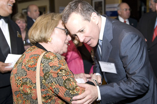 CSA legislative liaison Dee-Dee Goidel at the Convention with New York State Attorney General Nominee Eric Schneiderman