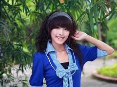 [フリー画像素材] 人物, 女性 - アジア, 台湾人, Tシャツ ID:201110121800