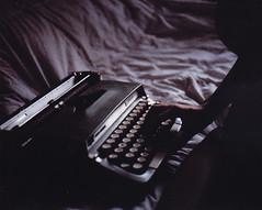 - (alexis mire) Tags: mamiya film typewriter mediumformat rb67