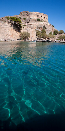 Spinalonga, Island, Elounda, Greece.