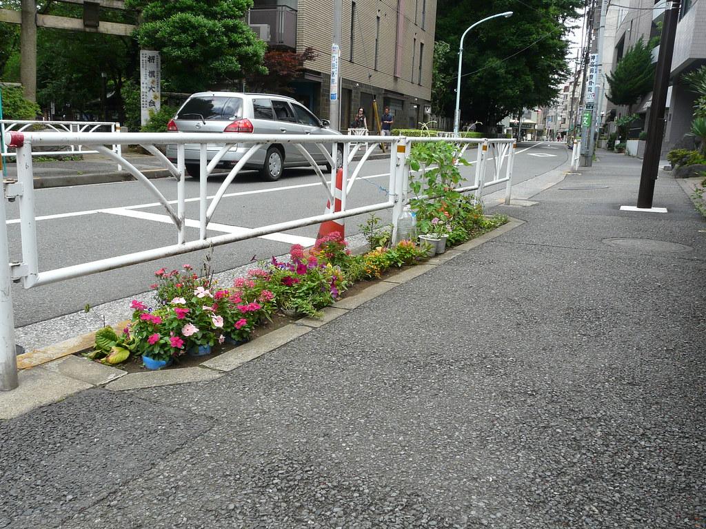 Curbside Embedded Pots