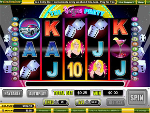 Vegas Party slot game online review