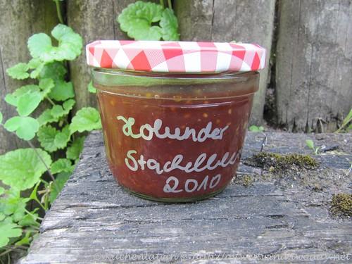 Holunderblüten-Stachelbeeraufstrich 001
