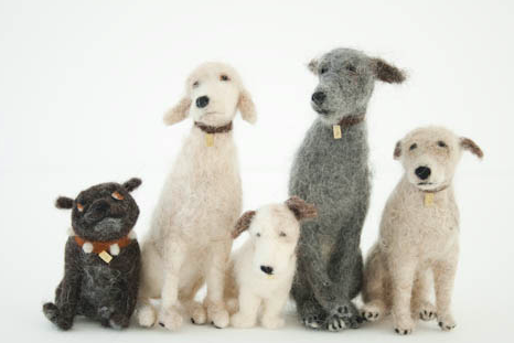 Domenica More Gordon's Felted Dogs-1
