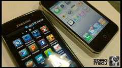 Samsung Galaxy S vs iPhone 3GS