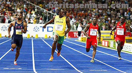 world record usain bolt