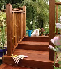 Hardwood Square Baluster Decking (Richard Burbidge) Tags: decks decking deckrailing deckboards wooddecking gardendecking richardburbidge deckingbalustrade deckingrails deckingbalustrades