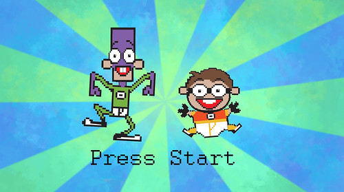 Fanboy & Chum Chum Press Start