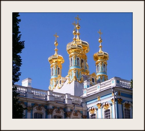 Catherine the great's Palace in St. Petersburg, Russia