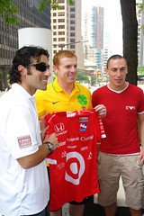 DSC00916 - Dario Franchitti, Neil Lennon, Scott Brown