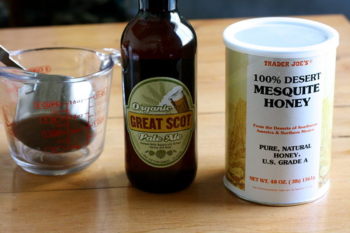 Honey and Beer Spice Cake