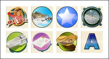 free Lucky Lady slot game symbols