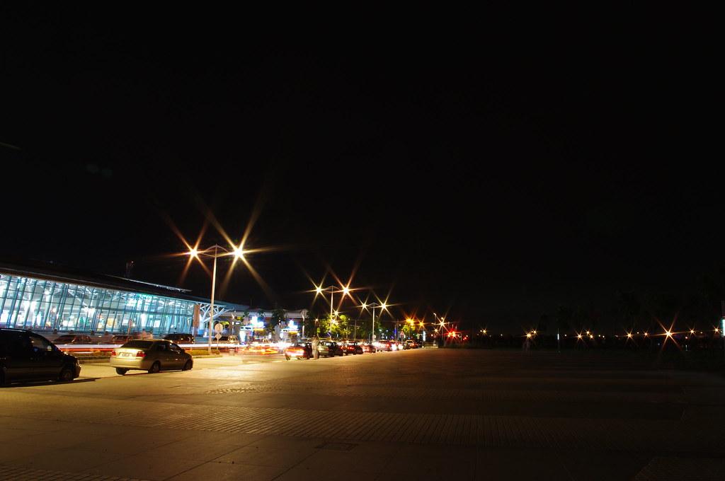 無聊就帶著單眼到處跑 - 嘉義東石夕照 嘉義高鐵站