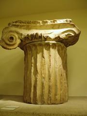 Capital from Mausoleum of Halicarnassus (Aidan McRae Thomson) Tags: sculpture london ancient capital mausoleum classical britishmuseum ionic antiquity artemisia halicarnassus mausolus caria pytheos sevenancientwonders