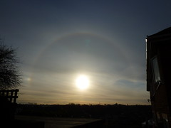 Sun Halo and Sundog (Mistraldancer) Tags: sundog sunhalo