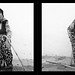Woman With Cane in Izmir, Turkey
