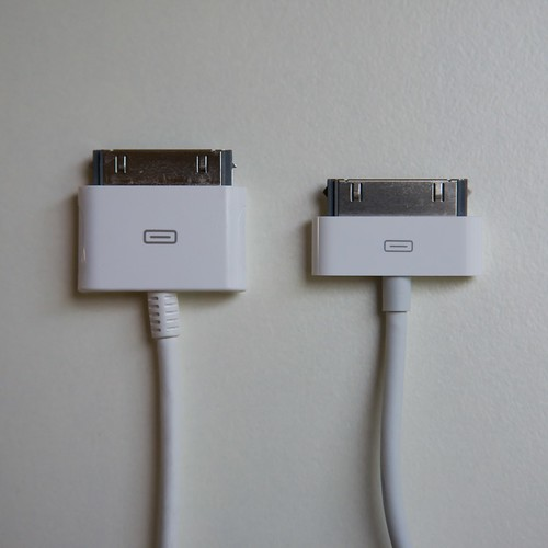Apple iPhone connector cables