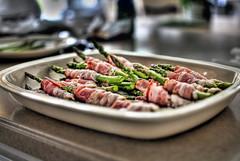 HDR Bacon Asparagus