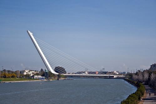 Puente del Alamillo, Sevilla, Andalucía, Spain