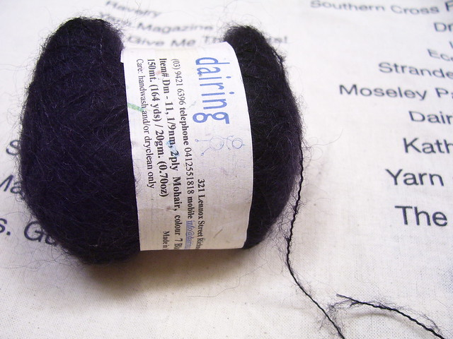 knitting yarn mohair lace
