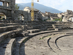 Aosta - Roman Theatre 2 by tomvw, on Flickr