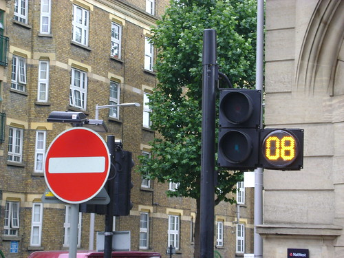 Pedestrian Crossing Countdown Timer