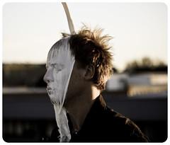 Mask (Xiangk) Tags: portrait art milk mess mask messy masquerade masque angusmclaren