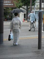 kimono woman in kyoto