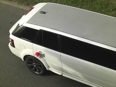 Another stretched one (Albert S. Bite) Tags: sport rover limo stretch range limousine v8