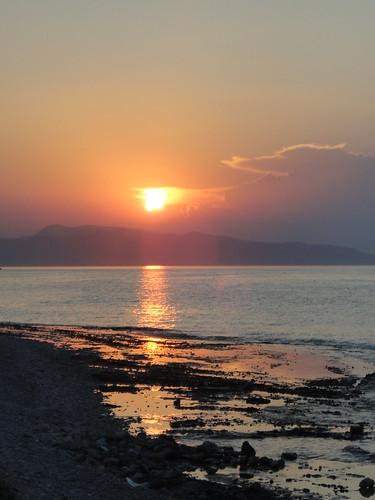 Agistri sunset