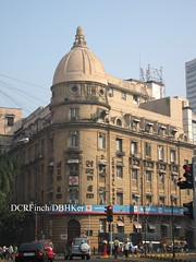 Central Bank of India - Bombay - 1933 (DBHKer) Tags: india building heritage architecture colonial bank dome bombay british maharashtra mumbai raj
