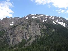 Views heading back down Tubal Cain trail.