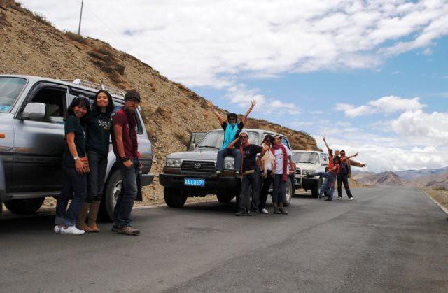 Tibet team june22-2010