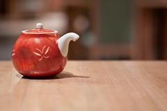 tea pot (WetCraft) Tags: food canon asian cuisine japanese restaurant dof tea bokeh lagoon pot bintan