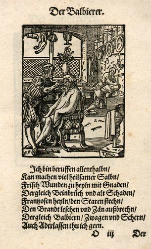 030-El barbero-Ständebuch 1568-Jost Amman-Hans Sachs