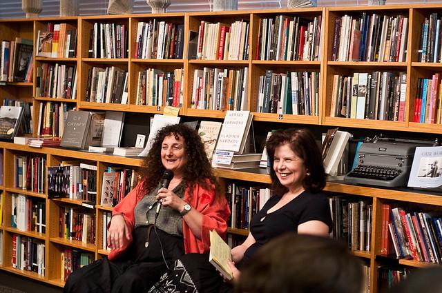 Ellen Datlow (l) and Nancy Kress (r)