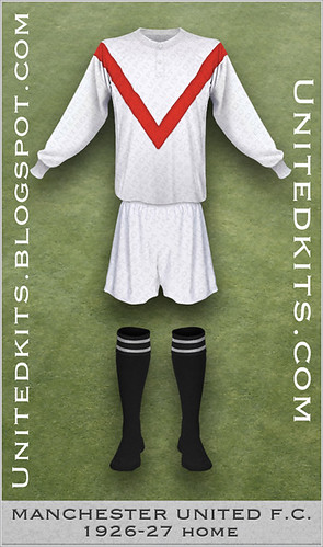 Manchester United 1926-1927 Home kit