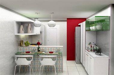 foto de cozinha americana