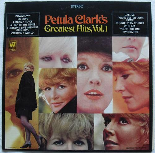 1960s PETULA CLARK LP record album vinyl vintage Greatest Hits Volume 1