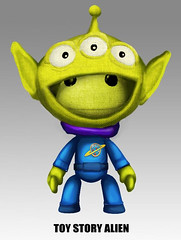 Toy Story Alien in LittleBigPlanet 2