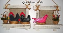 quadrinhos  (Gabriola Costurinha) Tags: birds country estilo patchwork decorao copa cozinha quadrinhos galinhas varandas passarinhos sacadas gabriolacosturinha alpendres decoraocomgalinhas churrasqieiras