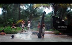 Boys on water (Sanil Photography [800K views]) Tags: india boys water kerala boar kumarakom sanil mywinners myfocuz sanilphotography linsaworld