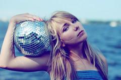 LAUREN GELZINIS. (Ally Newbold) Tags: ocean blue sea water youth canon ball allison lens outside disco rebel prime young teen teenager mm f18 dslr 50 newbold xti wwwallisonnewboldcom