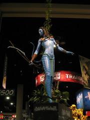 Na'vi Statue