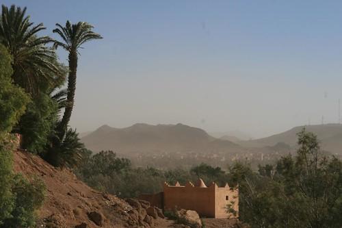 Montanhas em Ouarzazate Marrocos