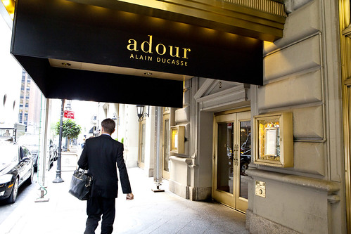 Entrance to Adour